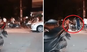 Teenagers in Thai Brutally Hit Defenceless Lady for Allegedly Bumping into Them While Walking - World Of Buzz 4