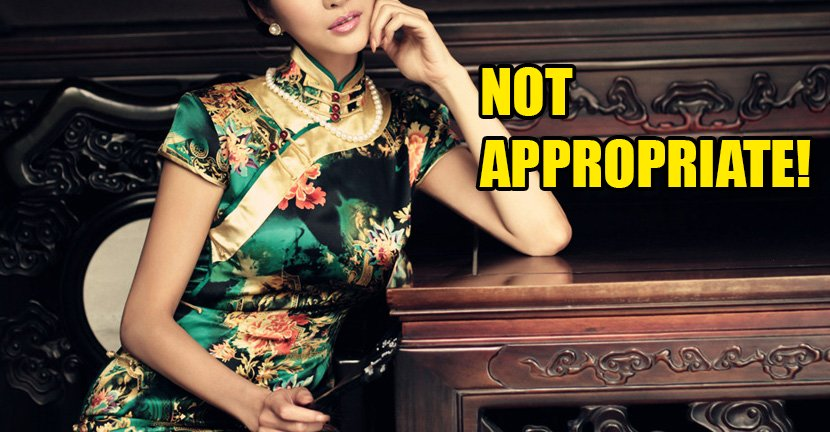 """""""They were Afraid My Cheongsam Would 'Affect the Emotions of the Male Students."""" - World Of Buzz 5"""