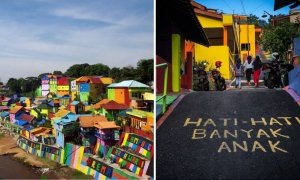This Magical Rainbow Village in Indonesia is Starting an Instagram Craze Internationally - World Of Buzz 9
