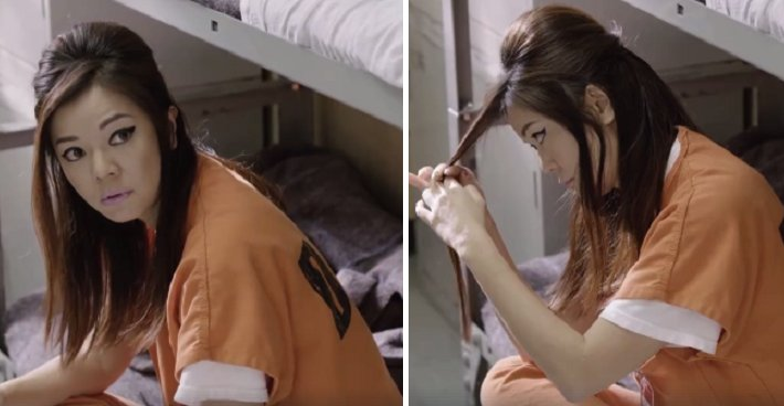 Singaporean 'Ah Lian' in 'Orange is the New Black' TV Show Goes Viral - World Of Buzz