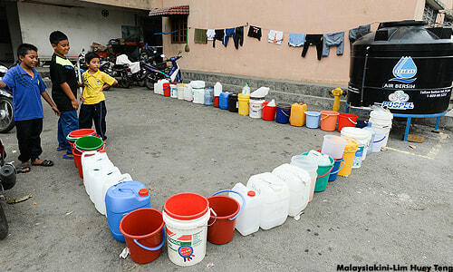 A Water Pipe Burst in Shah Alam and Here's the Latest Update - World Of Buzz 2