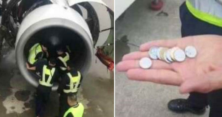 Chinese Woman Throws Coins into Plane Engine for 'Good Luck', Causes 5 Hour Delay - World Of Buzz 3