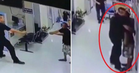 Compassionate Thai Police Officer Hugs Man Who Pointed a Knife at Him - World Of Buzz 5