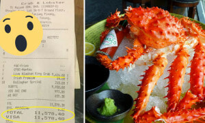 Customer Felt Cheated By RM9,636 Bill for Alaskan King Crab, But Actually... - World Of Buzz