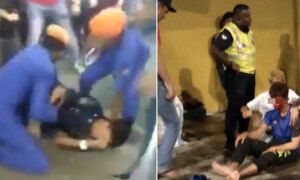 DBKL Officer Collapses and Gasping for Air After Pepper Sprayed by a Civilian - World Of Buzz