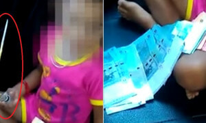 Disturbing Videos of Kedah Toddler Forced to Smoke Meth Go Viral - World Of Buzz 4