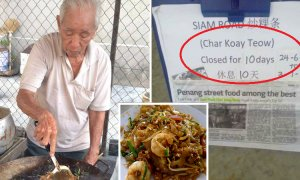 Famous Penang Char Koay Teow Stall Closed for 10 Days Because Uncle Cannot Tahan Stress - World Of Buzz 3