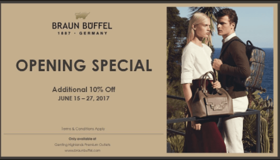 Genting Highland Premium Outlets Launched With 150 Designers and Brand Name Stores! - World Of Buzz 1