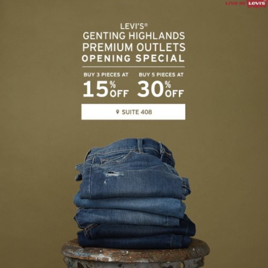 Genting Highland Premium Outlets Launched With 150 Designers and Brand Name Stores! - World Of Buzz 2