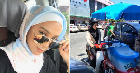 Inspiring Malaysian University Student Sells Ice-Cream to Help Her Father - World Of Buzz 4