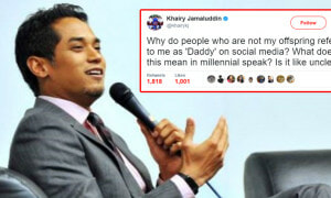 Khairy Jamaluddin Asks Twitter what 'Daddy' Means, Malaysians in Hysterics - World Of Buzz 6