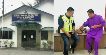 Kind Setapak Police Chief Helps Homeless Man Who Sought for Shelter During Hari Raya - World Of Buzz 3