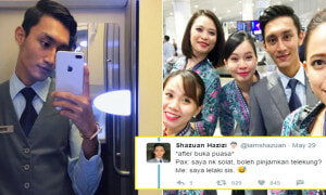 Malaysian Airlines Flight Attendant Shares His Hilarious Interactions With Passengers - World Of Buzz 9
