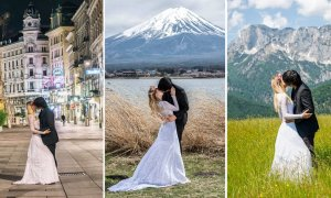Malaysian 'Daredevil' Travels to 15 Countries toTake His OWN Wedding Photos! - World Of Buzz 3