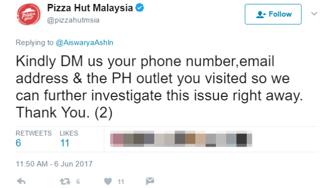 Malaysian Netizen Complained Pizza Hut Only Serves Non-Muslims After 8.30, Pizza Hut Responds - World Of Buzz 4