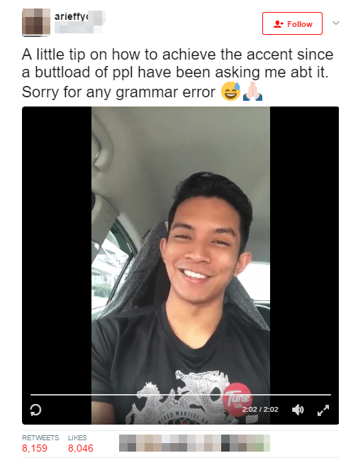 Malaysian Teaches Netizens How to do a British Accent, Becomes a Meme Instead - World Of Buzz