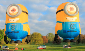 Malaysians Can't Wait to Take Pictures With These Giant Minion Balloons in Penang! - World Of Buzz