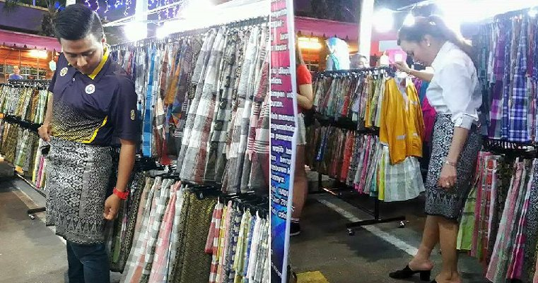 Malaysians Mind-Blown when Korean Lady Ingeniously Turns Sampin into a Skirt - World Of Buzz 3