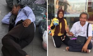 Malaysians Show Beautiful Side As Everyone Rally Together to Help Soft Toy Uncle - World Of Buzz