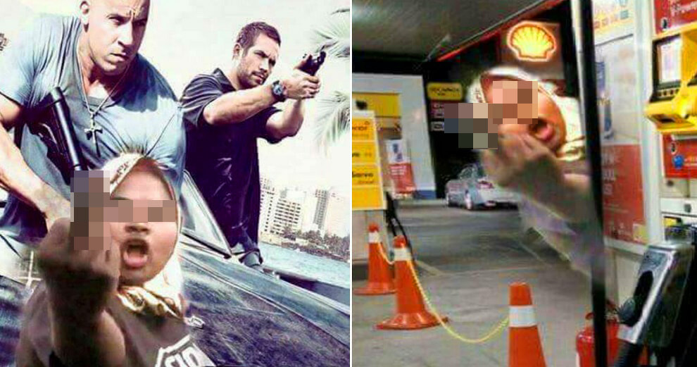 Rude Malaysian Driver Who Threw Slippers At Car is Now a Meme - World Of Buzz 6