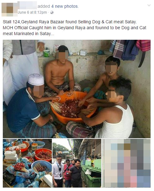 Singapore's NEA Investigates Claims About Dog and Cat Meat Being Sold at Ramadan Bazaar - World Of Buzz 3