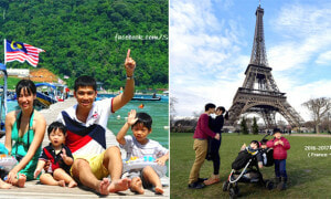 Taiwanese Parents With 3 Kids Travel 23 Countries in 9 Months, First Stop Being Malaysia! - World Of Buzz