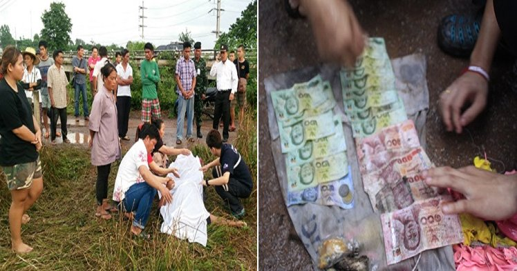 Thai Man Dies from Electrocution While Trying to Grab Envelope Full of Cash - World Of Buzz 4