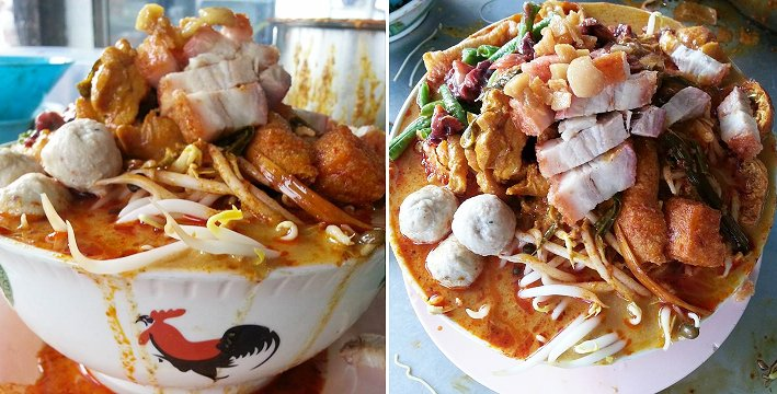 This Kampong Selayang Restaurant Serves the BIGGEST Curry Laksa You've Ever Seen - World Of Buzz