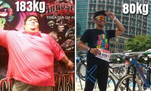 From 183kgs to 80kgs; This Malaysian Man Shares the Struggles He Endured - World Of Buzz 5
