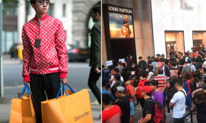 Here's Why People Are Willing to Line Up 13 Hours for Supreme X Louis Vuitton Collectionsw - World Of Buzz