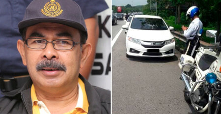 High Ranking Officer in Road Transport Department Guilty of Driving on Emergency Lane - World Of Buzz