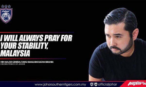 """I Will Always Pray For Your Stability, Malaysia,"" Says Prince of Johor - World Of Buzz 1"