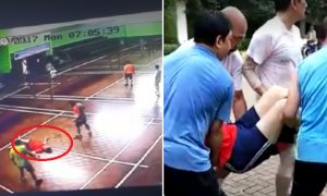 Indonesian Badminton Player Collapses and Dies in The Middle of Playing - World Of Buzz