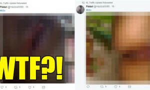 KL Traffic Update's Twitter Retweets Porn, Malaysian Netizens Confused - World Of Buzz 15