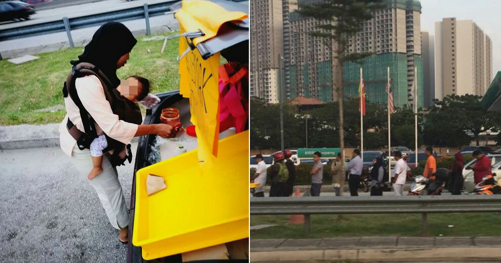 Loving Mother Selling Nasi Lemak Goes Viral, Netizens Line Up To Buy Her Food - World Of Buzz 8