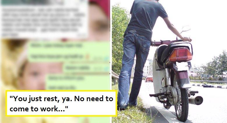 Malaysian Girl Lies to Boss to Skip Work but Kena Kantoi, Gets Sacked - World Of Buzz 4
