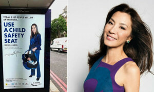 Michelle Yeoh Hits the Streets of London to Promote Road Safety Campaign - World Of Buzz 4