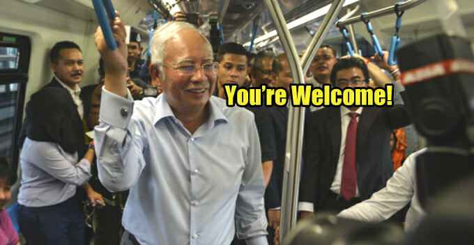 Minister Says MRT Sungai Buloh-Kajang Line Is a Gift From PM, Draws Flak from Netizens - World Of Buzz