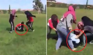 Police Investigates Viral Video of Teenage Girls Bullying Another Girl in Sabah School - World Of Buzz 3