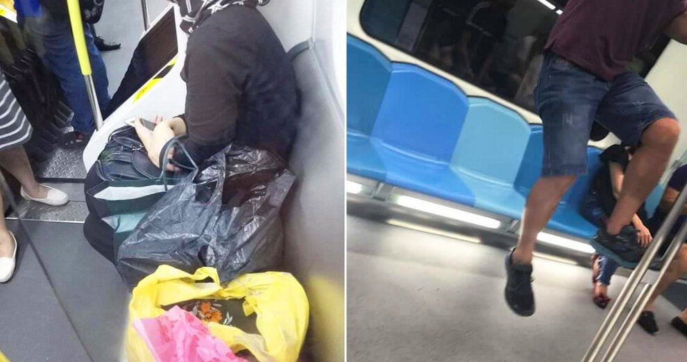 RapidKL Shares Pictures of Commuters Misbehaving on Facebook, Malaysians Disappointed - World Of Buzz 9