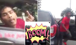 Road Bully Spotted in Mid Valley, Genius Victim Turns Dash Cam Footage into a Movie - World Of Buzz