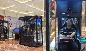 "Shanghai Mall Installs ""Hubby Hatches"" for Bored Husbands and Boyfriends - World Of Buzz 2"
