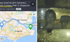 Singapore Grab Driver Went to Pick Up Passenger at Cemetery at 3am, Then... - World Of Buzz