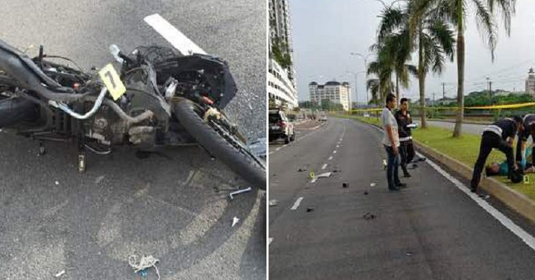 Snatch Thief Dies After Victim Chases and Crashes His Car into Bike to Stop Him - World Of Buzz