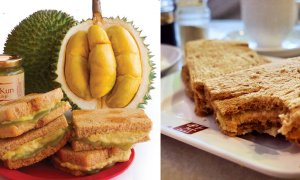 This Mouth-Watering Durian Kaya Toast is Actually a Thing and It's in Singapore - World Of Buzz 1