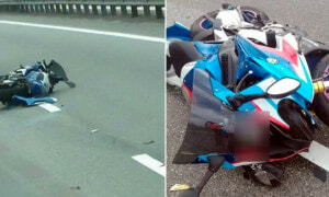 Biker Horrifically Dies in Kulai Accident, Daughter Begs Public Not to Share His Photos - World Of Buzz 3