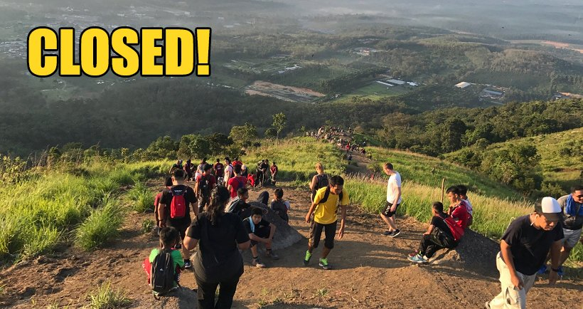 Bukit Broga is Now Officially Closed for Three Months for Restoration Works - World Of Buzz 7