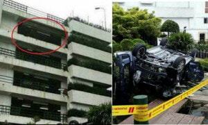Car Plunges 13m From Genting Highlands Car Park, Passengers Killed Instantly - World Of Buzz
