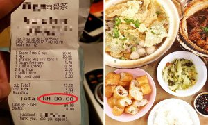 Couple Dressed in Fine Clothes and Driving Toyota Camry Dines and Dashes, Leaving RM80 Bill Behind - World Of Buzz 2