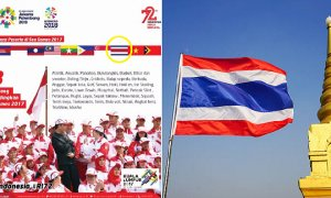 Did Indonesia Just Mixed Up Thailand Flag's Colours in a SEA Games Image? - World Of Buzz 4